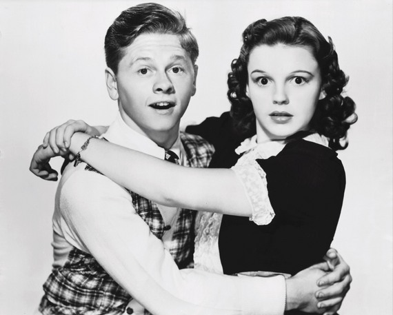 Judy Garland and Mickey Rooney, Love Finds Andy Hardy, Classic Movies