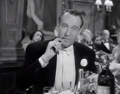 George Sanders as Addison DeWitt in All About Eve directed by Joseph L. Mankiewicz in 1950