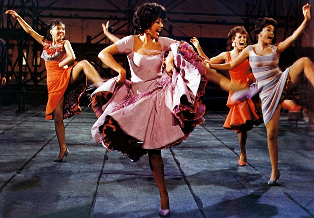 America, Rita Moreno, West Side Story, Jerome Robbins, Robert Wise