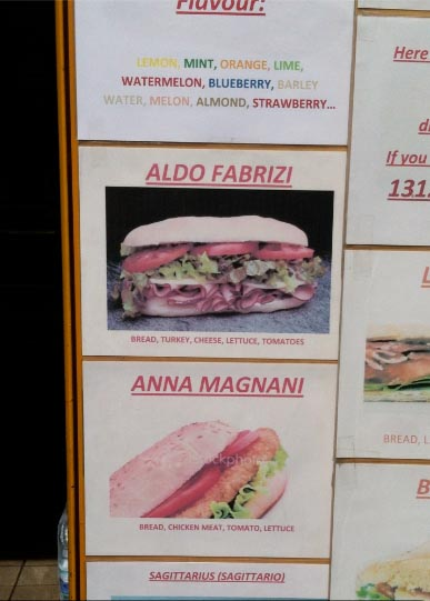 Anna Magnani sandwich Via del Corso Rome, Classic Movie Actress