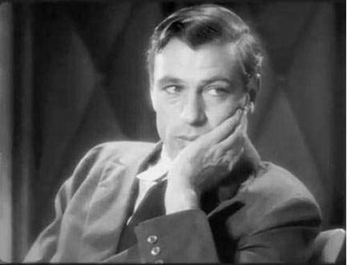 Gary Cooper in Mr Deeds Goes To Town, Frank Capra