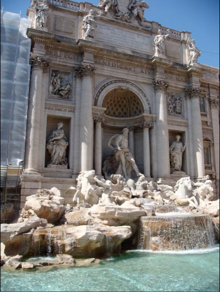 Trevi Fountain, Rome Italy, Three Coins in the Fountain, Classic Movie, Jean Negulesco