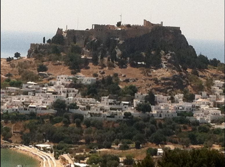 Lindos and the Acropolis, The Guns of Navarone film site