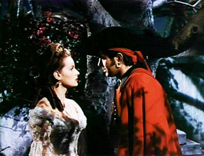 Maureen O'Hara and Tyrone Power in The Black Swan, Henry King director