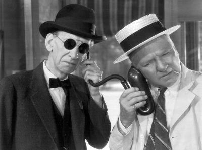 Charles Sellon and WC Fields in It's A Gift