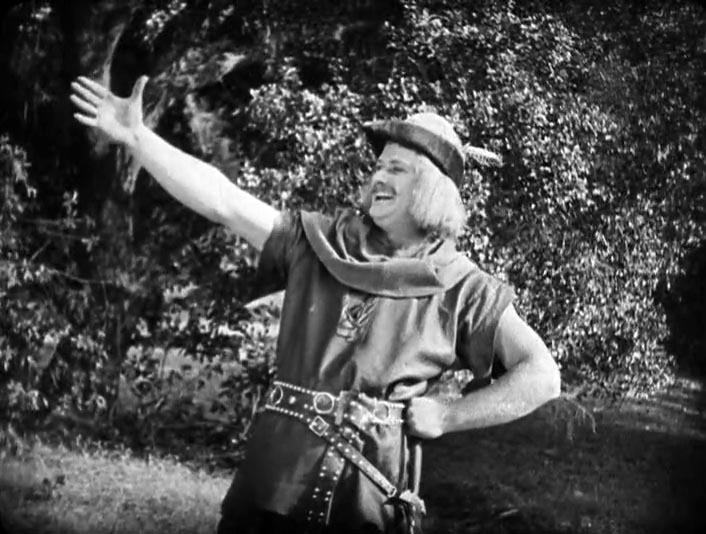 Alan Hale as Little John - Robin Hood (1922) Douglas Fairbanks
