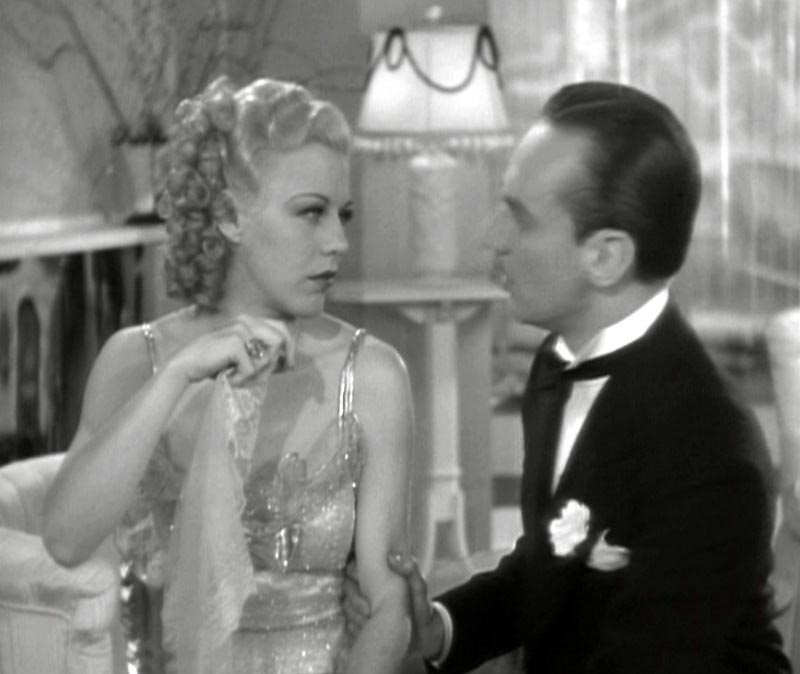 Alberto Beddini, Erik Rhodes, Ginger Rogers, Fred Astaire, Top Hat