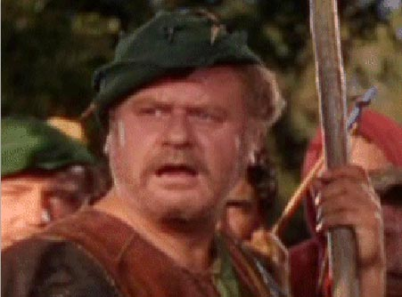 Alan Hale, Little John, Adventures of Robin Hood, Errol Flynn