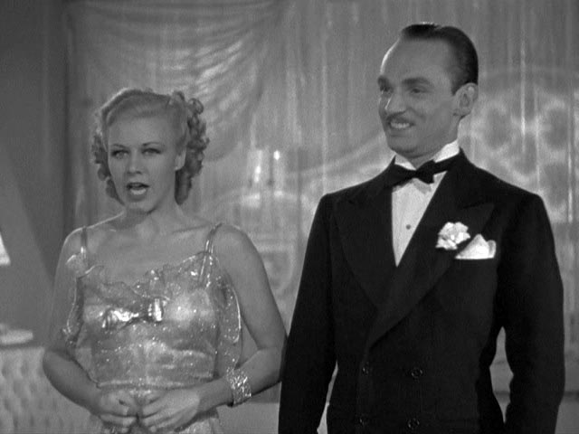 Alberto Beddini, Erik Rhodes, Fred Astaire, Ginger Rogers, Top Hat