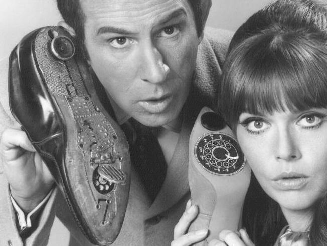 Get Smart starring Don Adams and Barbara Feldon