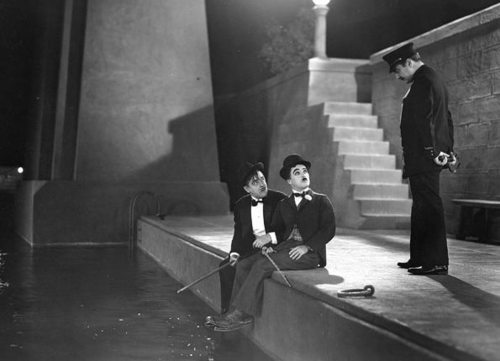 Harry Myers and Charlie Chaplin in City Lights