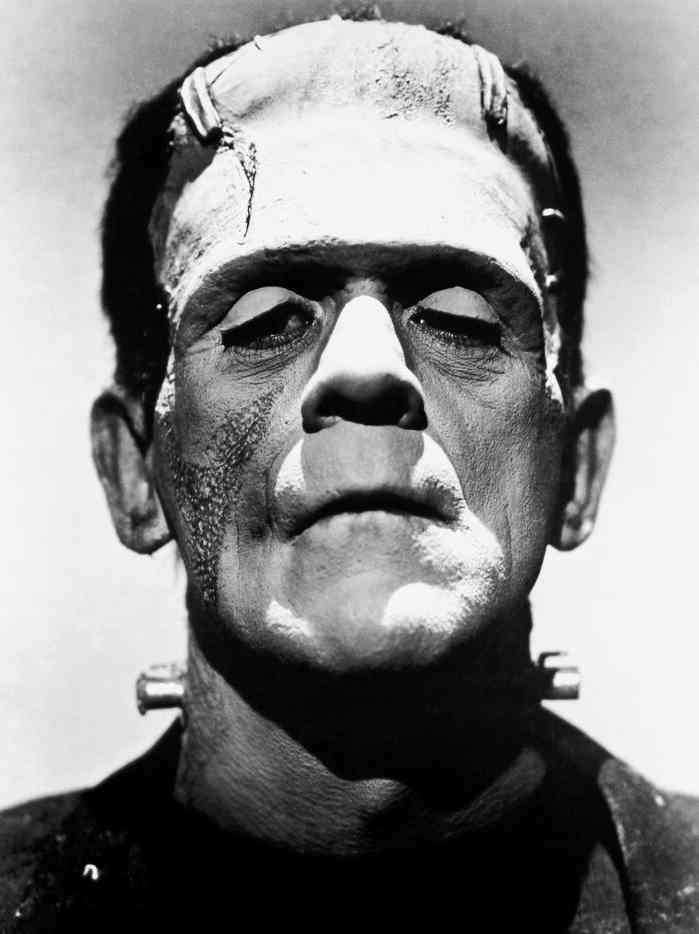 Frankenstein monster Boris Karloff