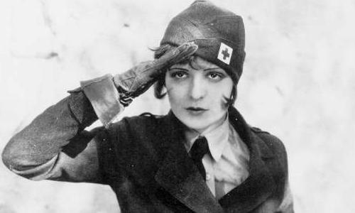 Clara Bow in Wings