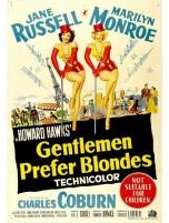 Gentlemen Prefer Blondes Classic Movie Magnet Madness