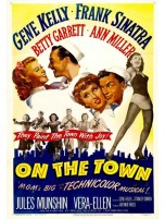 On The Town Classic Movie Magnet Madness