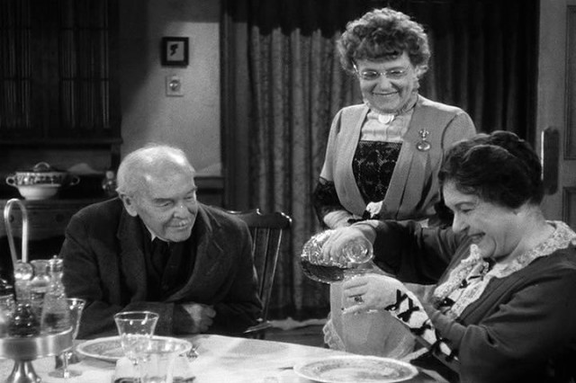 jean adair, josephine hull, arsenic and old lace