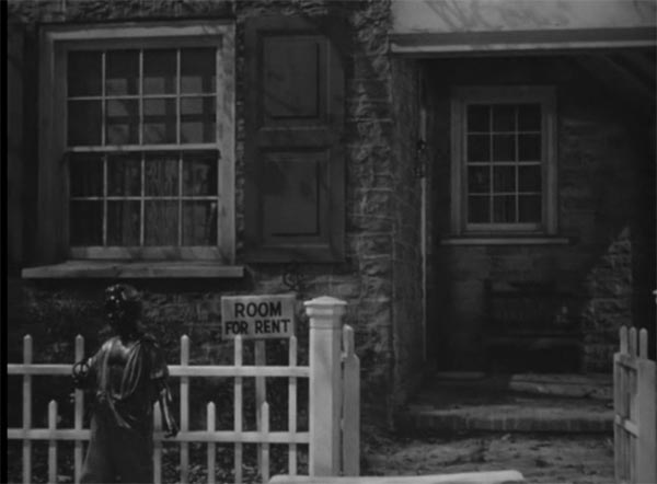 The Brewster House in the film Arsenic and Old Lace, Frank Capra