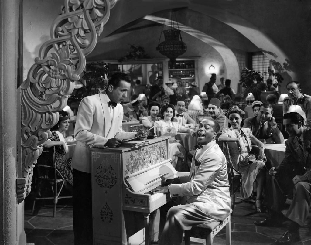 Humphrey Bogart, Dooley Wilson, Casablanca, Piano