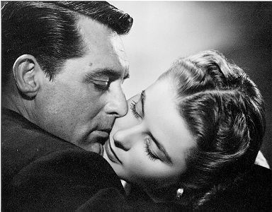 Notorious starring Cary Grant and Ingrid Bergman