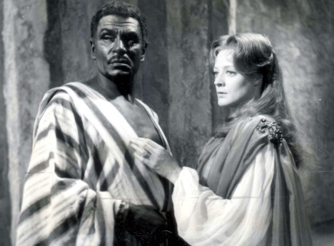 Lawrence Olivier , Othello, classic movie actor, stewart burge