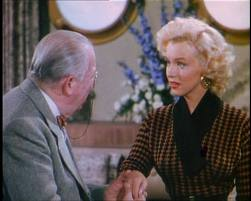Charles Coburn and Marilyn Monroe in Gentlemen Prefer Blondes
