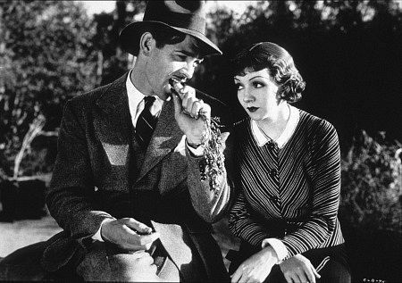 Claudette Colbert, It happened one night, classic movie actress, Frank Capra