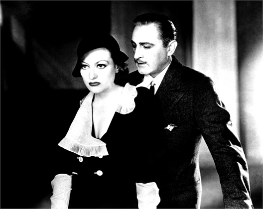 Joan Crawford and John Barrymore in Grand Hotel