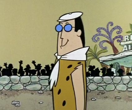 "Gary Granite in The Flintstones ""Monster from the Tar Pits"""