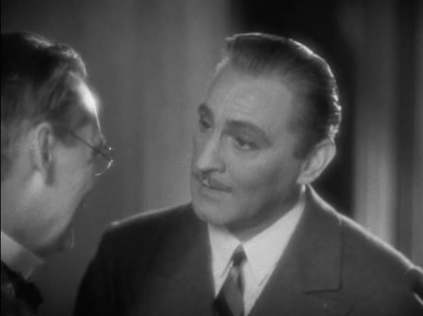 Lionel Barrymore and John Barrymore in Grand Hotel