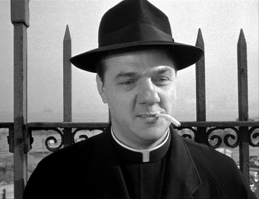 Karl Malden as Father Barry in On the Waterfront
