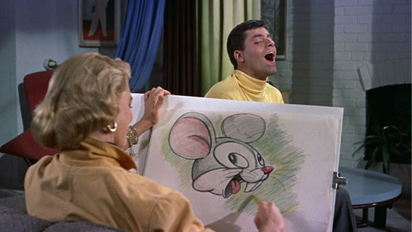 Jerry Lewis as Eugene Fullstack in Artists and Models