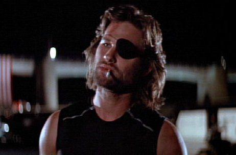 Kurt Russell as Snake Plissken in John Carpenter's Escape from New York