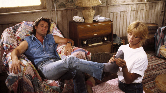 Kurt Russell and Goldie Hawn in Overboard, film by Garry Marshall
