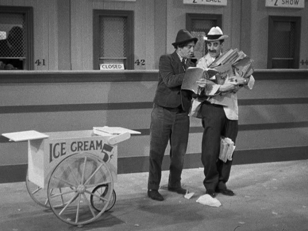 Chico Marx A Day at the Races Tootsie Fruitsie Ice Cream