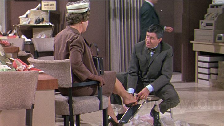 Jerry Lewis as Norman Phiffier in Who's Minding the Store