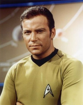 Wiliiam Shatner as Captain Kirk