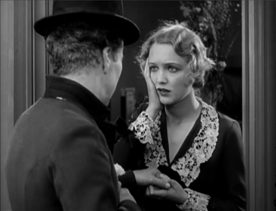 Virginia Cherrill with Charile Chaplin in City Lights