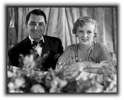 Virginia Cherrill with husband Cary Grant