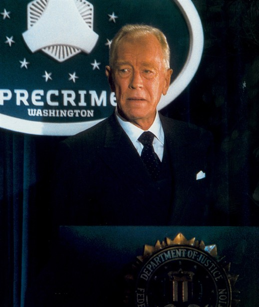 Image result for max von sydow minority report