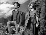 Rex Downing as Young Heathcliff with Sarita Wooton as Young Cathy in Wuthering Heights (1939, director William Wyler)
