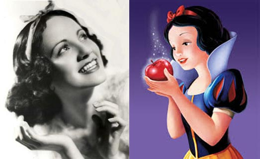 Adriana Caselotti as the voice of Snow White