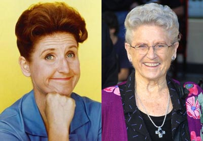 Ann B Davis film and tv actress then and now