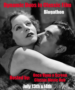 Dynamic Duos in Classic Film Blogathon: Garbo and Garfield