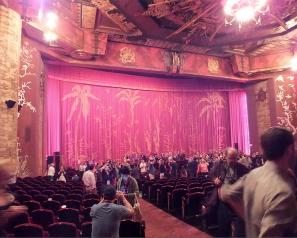 Graumans Chinese Theater Inside TCMFF 2013 TCL Theater Hollywood