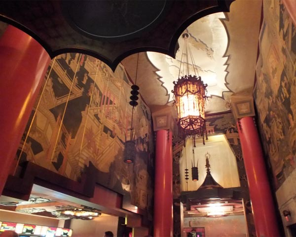 Graumans Chinese Theater Lobby TCMFF 2013 TCL Theater Hollywood