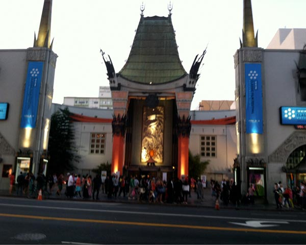 Graumans Chinese Theater Outside TCMFF 2013 TCL Theater Hollywood