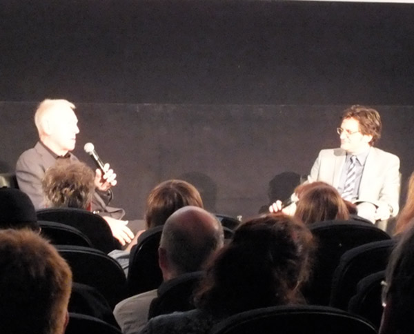 Max Von Sydow and Ben Mankiewicz TCMFF Seventh Seal