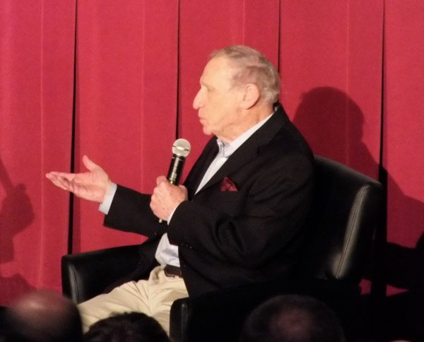 Mel Brooks at TCMFF introducing The Twelve Chairs