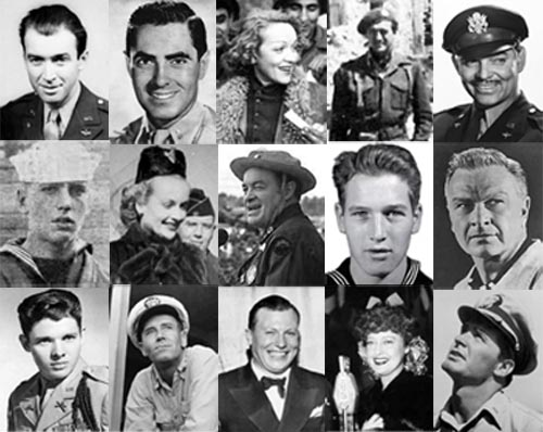 Memorial Day Tribute: Classic Movie Stars who served their countries
