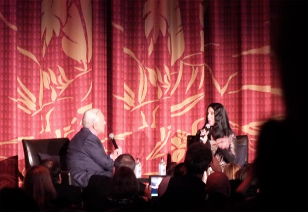 Robert Osborne interviews Cher at Funny Girl Restoration Premier TCMFF